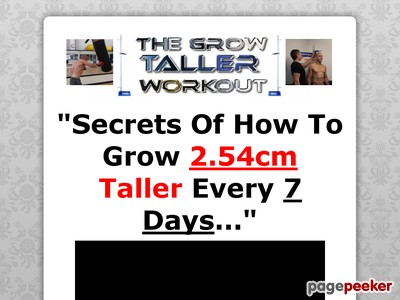 the grow taller workout  add this to your current
