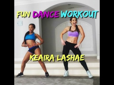 keaira lashae  dance workout for beginners  online