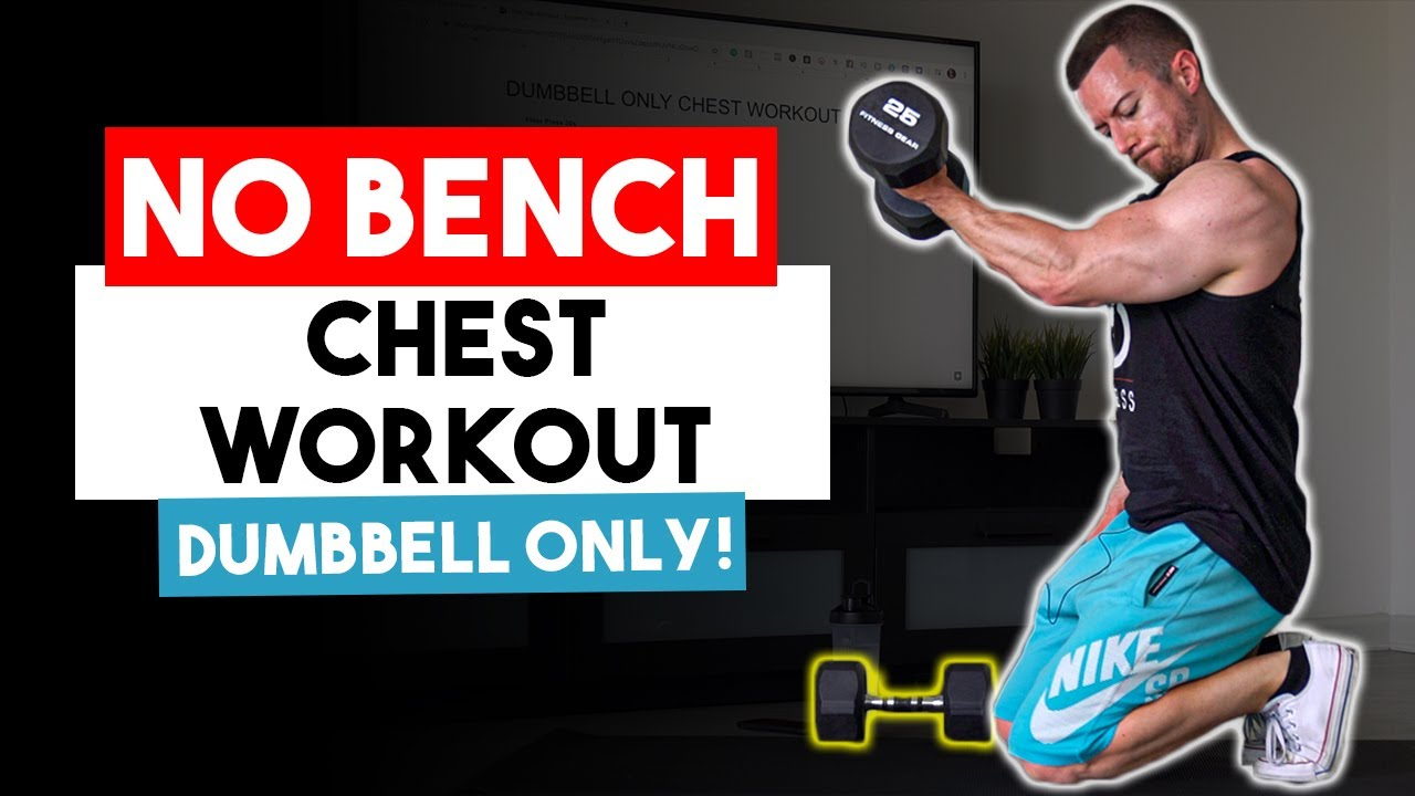 Dumbbell Only Chest Workout for Men (WITHOUT A BENCH!) 8