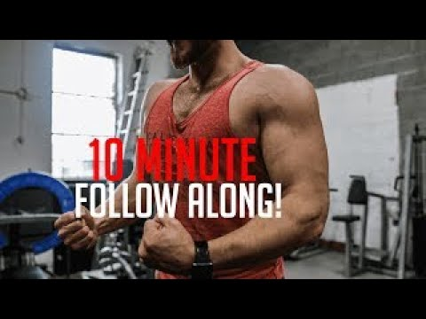intense 10 minute upper body at home workout  intense at