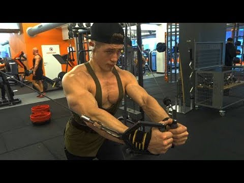 pre workout meal tip/ bro aesthetics chest workout